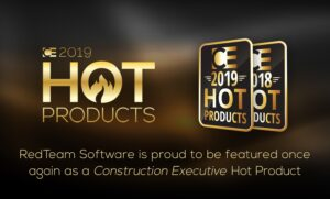 RedTeam is featured once again as a Construction Executive Hot Product