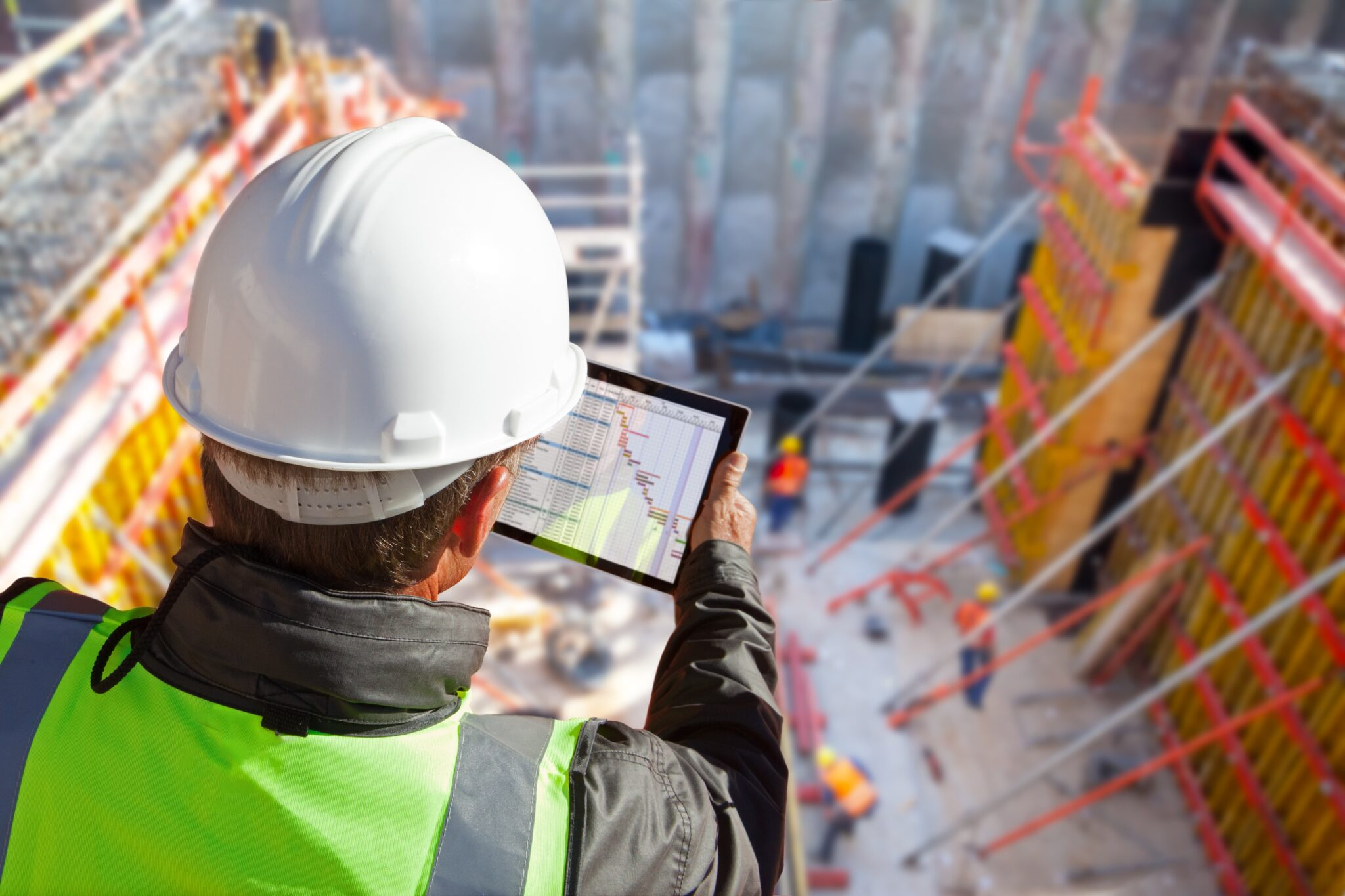 What happens when a contractor develops construction software?