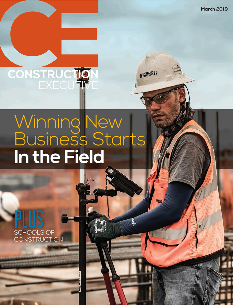 RedTeam is featured once again in Construction Executive Magazine – March Edition.