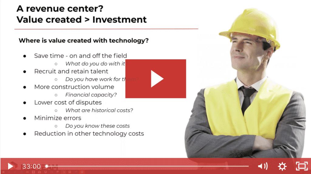 Construction Tech as a Revenue Center