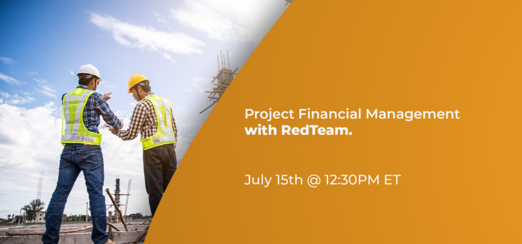 Project Financial Management with RedTeam